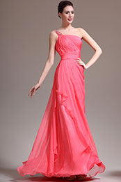 eDressit New Gorgeous One Shoulder Beadings Evening Dress (00138057)