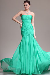 eDressit New Adorable Strapless & Sweetheart Green Evening Dress Prom Gown (00139111)