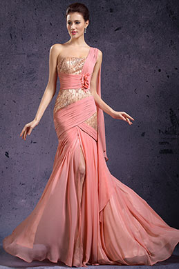 eDressit New Stylish One Shoulder High Split Evening Dress (02131601)