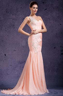 eDressit Ein Schulter Wunderbar Abendkleid (02132001)