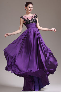 eDressit New Stunning Purple Evening Dress Prom Gown (02132306)