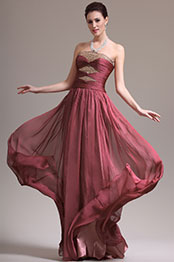 eDressit New Great Amazing Strapless Overlace Evening Dress Prom Gown (02134046)
