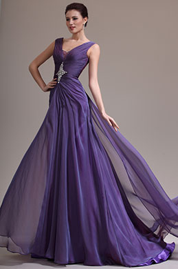 eDressit New Sexy V-cut Beaded Evening Dress (02134506)