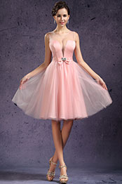 eDressit New Sexy Tulle Round Neck Cocktail Dress Party Dress (04133701)