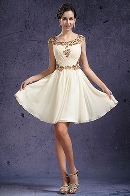 eDressit New Pleated Cap Sleeves Cocktail Dress Party Dress (04133814)