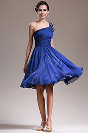 eDressit New Fabulous One Shoulder Blue Cocktail Dress Party Dress (04135005)