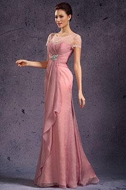 eDressit сексуальное круглое декольте из кружева вечернее платье для матери невесты(26135101)