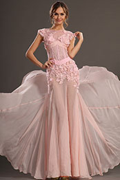 eDressit 2013 S/S Fashion Show Pink Sleeveless Evening Dress Prom Gown (F00132401)
