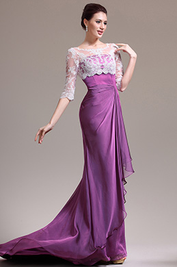 eDressit Scharmant Rund Ausschnitt Kleid für Braut´s Mutter (26134512)