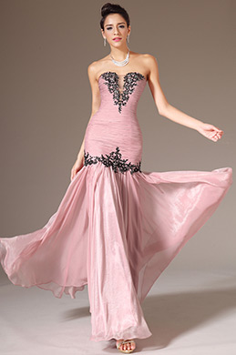 eDressit Strapless Floor-Length Prom Dress(00140846)