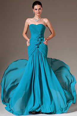 eDressit Blue Strapless Sweetheart Prom Gown (00141011)