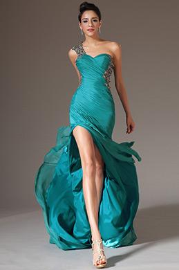 eDressit 2014 Neu Spitze Ein-Schulter Süß-Herz Formal Gown(00141211)