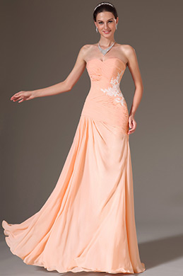 eDressit Simple Strapless Sweetheart Prom Dress(00141701)