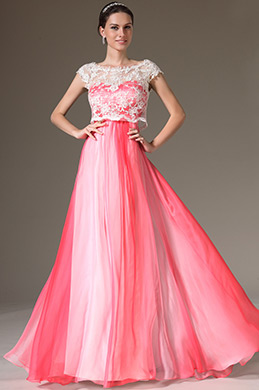 eDressit Gradient Top Lace Bodice Prom Evening Dress (00143256)