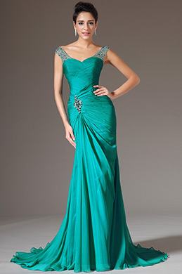 eDressit Sweetheart Fully Beaded Straps Formal Gown(00143304)