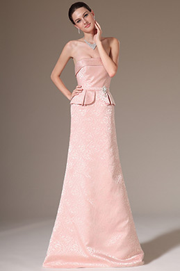 eDressit Strapless Fitted Long Evening Gown (02141068)