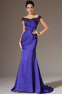 eDressit Off-Shoulder Sheath Evening Gown (02143605)