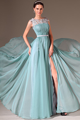 eDressit Sheer Top High-Slit Prom Dress/Evening Gown (02144004)