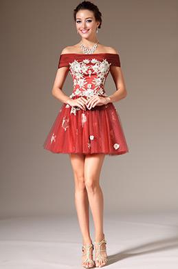 eDressit Off-Shoulder Mini-Skirt Cocktail/Party Dress (04140410)