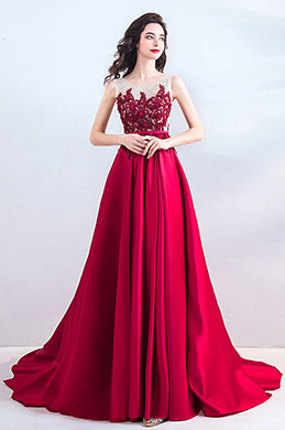 eDressit New Red Elegant Emboridery Beads Formal Dress (36206702)
