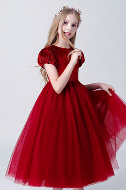 eDressit Classic Red Children Wedding Flower Girl Dress (27204102)