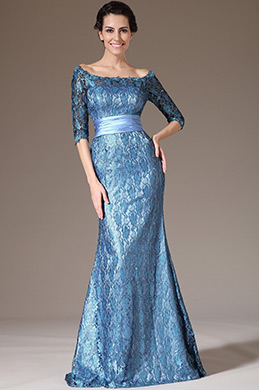 eDressit Off-Shoulder Half-Sleeves Lace Formal Gown(26140605)