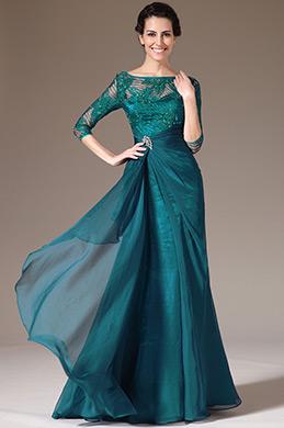 eDressit 2014 Новое Зеленное Кружевной Топ Половина Рукава Платье Для Мамы Невесты(26141305)