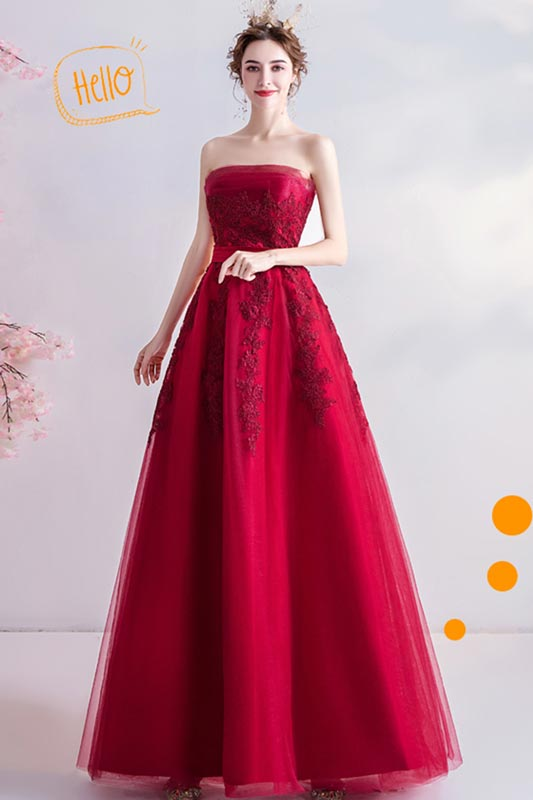 eDressit Sexy Corset Red Lace Tulle Party Evening Dress (36225802)