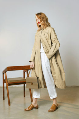 eDressit Classic Long Dust Coat Wear to Work Coat Dress (30191020)