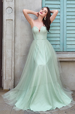 eDressit  Sexy Green Corset Elegant long Party Evening Dress (02200304)