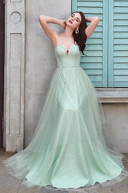 eDressit  Sexy Green Corset Elegant long Party Evening Dress (02200304)