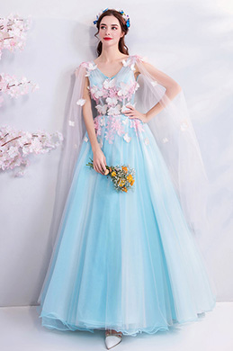 9a82174a96673 eDressit Sexy V-Cut Floral Tulle Party Formal Women Dress (36212232)