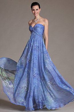 eDressit Gorgeous Strapless Printed Evening Gown (00105768)