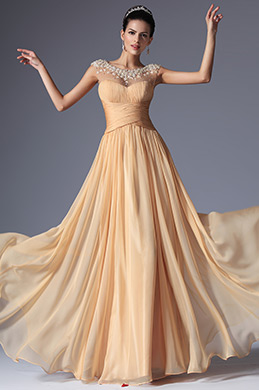 eDressit Beaded Elegant Prom Evening Gown Graduation Dress (00147610)