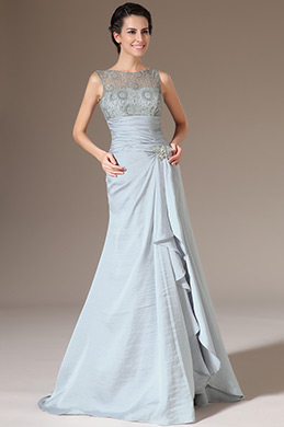 eDressit Sleeveless Overlace Fitted Long Evening Gown (02140526)