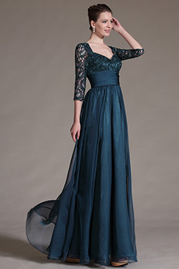 eDressit Stylish Overlace Sleeves Mother of the Bride Dress (26146205)