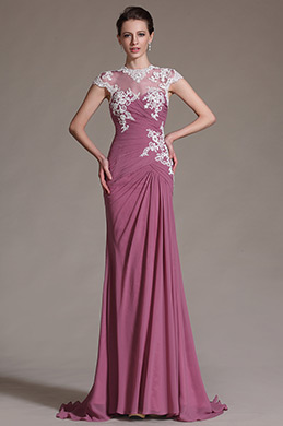 eDressit Sleeves Lace Long Mother of the Bride Dress (26146946)