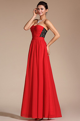 Gorgeous Lace Strapless Evening Dress (C00135702)