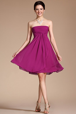 Arrivals Lovely Strapless Cocktail Dress Party Dress (C04112412)