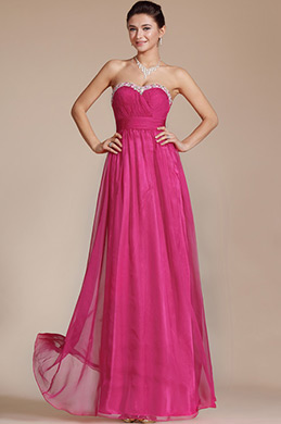 Charming Hot Pink Sweetheart Evening Dress/Bridesmaid Dress (C36141812)