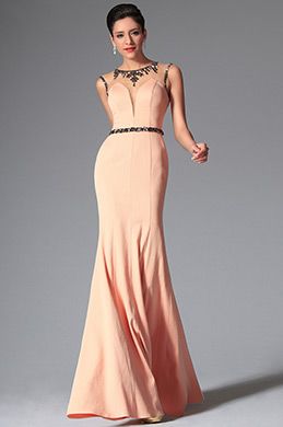 eDressit Round Neckline Sleevless Evening Prom Gown (00148810)