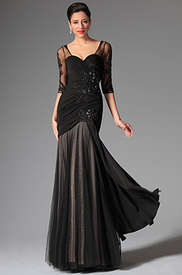 eDressit Black Sweetheart Evening Dress Prom Gown (02147000)