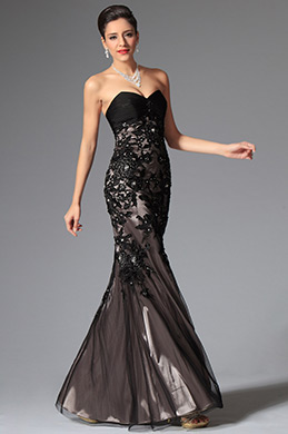 eDressit Black Lace Stylish Sweetheart Evening Dress Prom Dress (02147500)