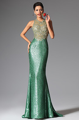 eDressit Green Halter Mermaid Evening Dress Prom Ball Gown (02149704)