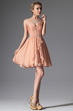 eDressit Orange Sweetheart Cocktail Dress Bridesmaid Dress (04143710)