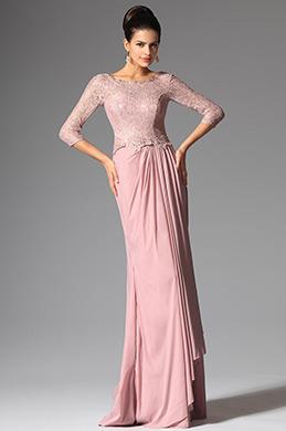 eDressit 2014 Nouveauté Rose Avec Manches Robe Mère de Mariée (26147801)