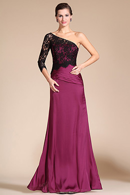 Fashion Overlace A-line Evening Dress Prom Gown(C00141612)
