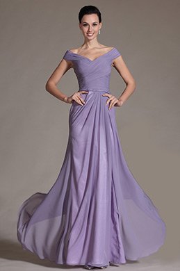 Romantic V-cut Evening Dress Prom Dress (C00144106)