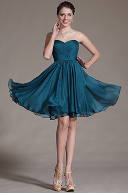 Strapless Style Bridesmaid Dress Cocktail Dress (C07140905)