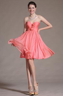 2014 Новое Милое Коктейльное Платье Платье для Подружек Невесты (C07141457)